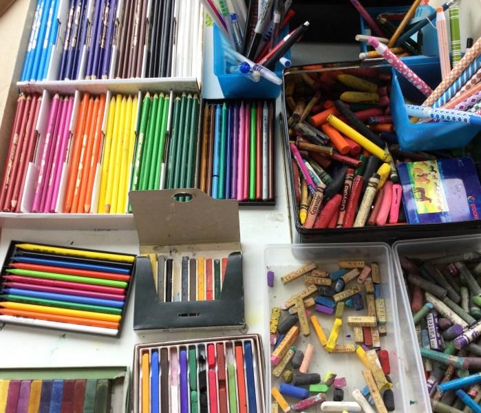 Lots of materials