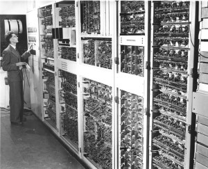 In 1951 the CSIRO commissioned it's first computer the CSIR MK1, one of only five in the world at the time, which was built in Sydney by CSIRO's Division of Radiophysics.
