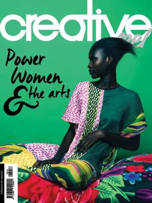 Creative Feel's August 2016 Cover features Marianne Fassler's RESORT15 Collection