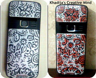 cell+casing+hand+paint