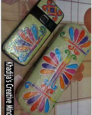decoupage+cellphone+casing