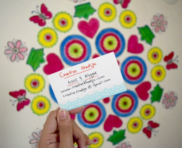 creative-khadija-business-card