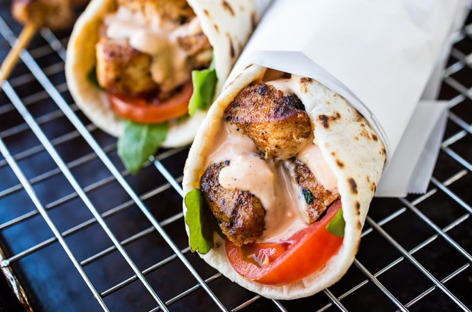 Ramadan-recipe-grilled-chicken-wraps