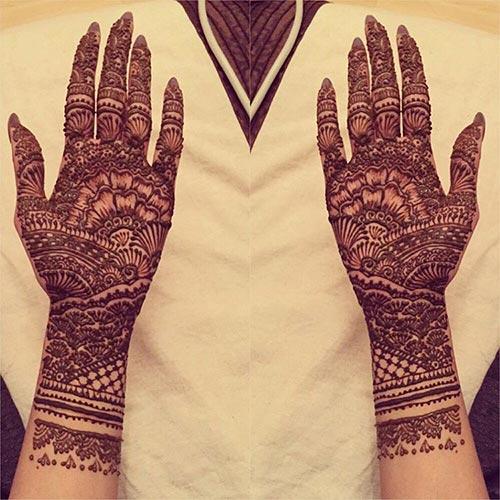 Henna Tattoo Yuma Az : Heavy mehndi designs for hands makedes