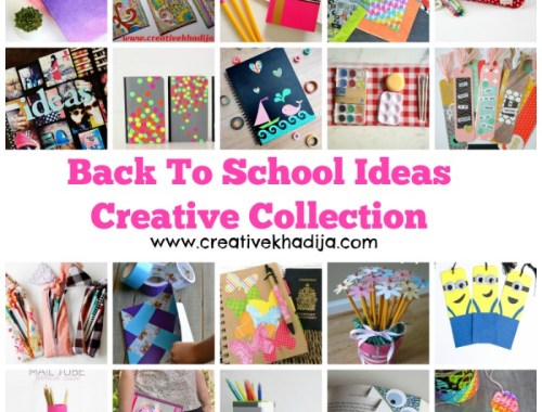 back to school creative ideas and organizing solutions
