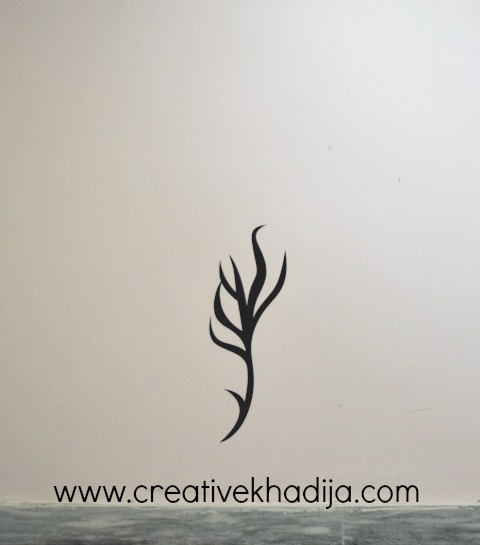 how to apply sticker wall decal review