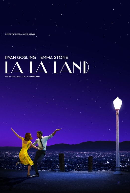 top 5 creatively inspiring movies la la land