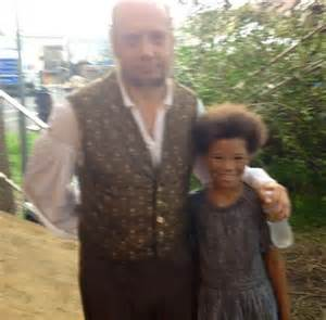 "Film Academy Graduate Storm Reid with Paul Giamatti on ""Twelve Years a Slave"""