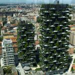 green residential towers