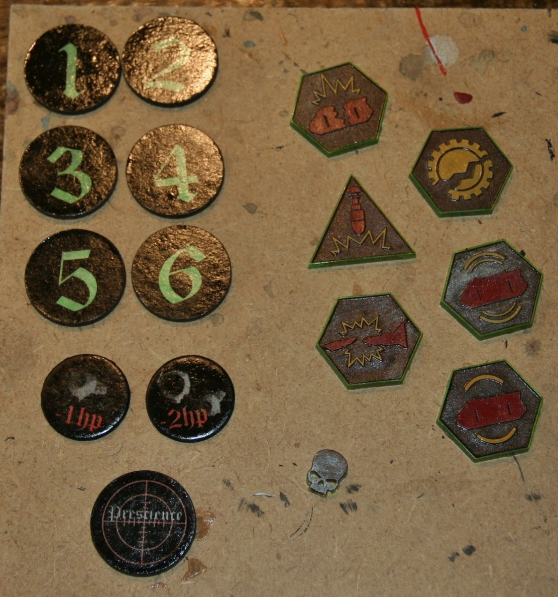 Objective and Status Markers