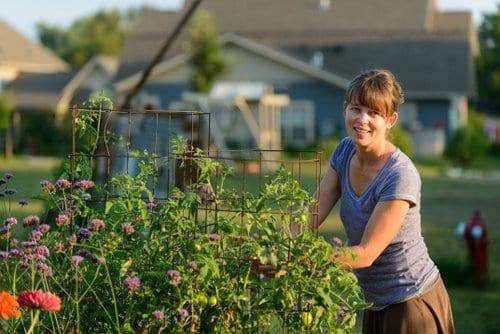 Megan cain author of the creative vegetable gardener for Gardening classes near me