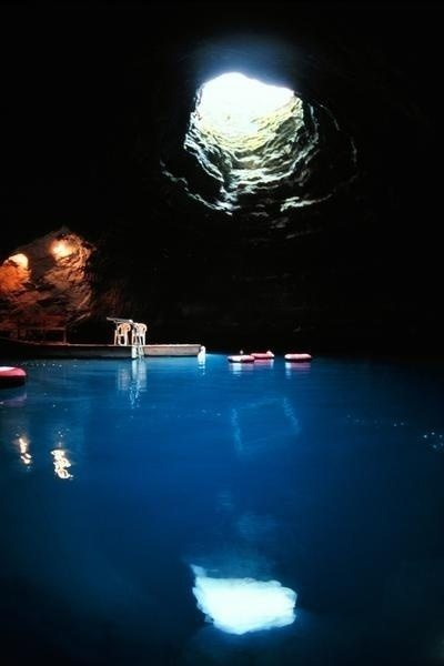 The Homestead Crater Thermal Pool in Utah