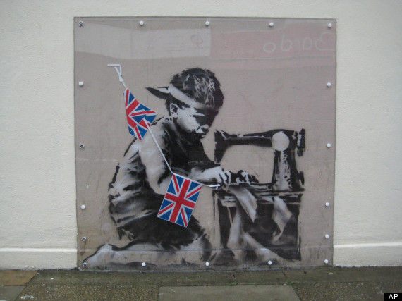 Britain Missing Banksy