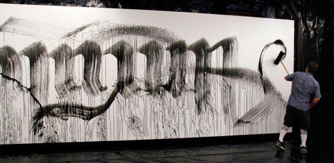 Calligraffiti por Niels Shoe Meulman