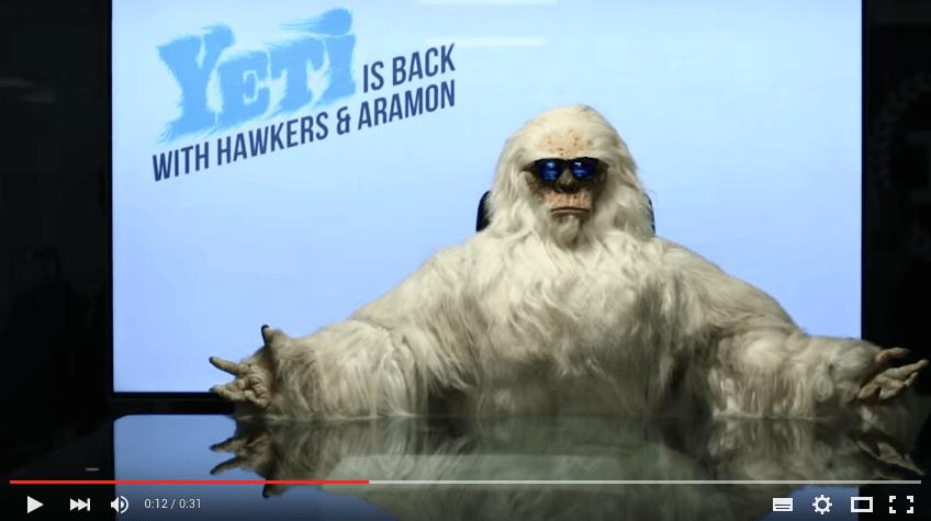 Hawkers finge descubrir un Yeti en los pirineos y se hace viral
