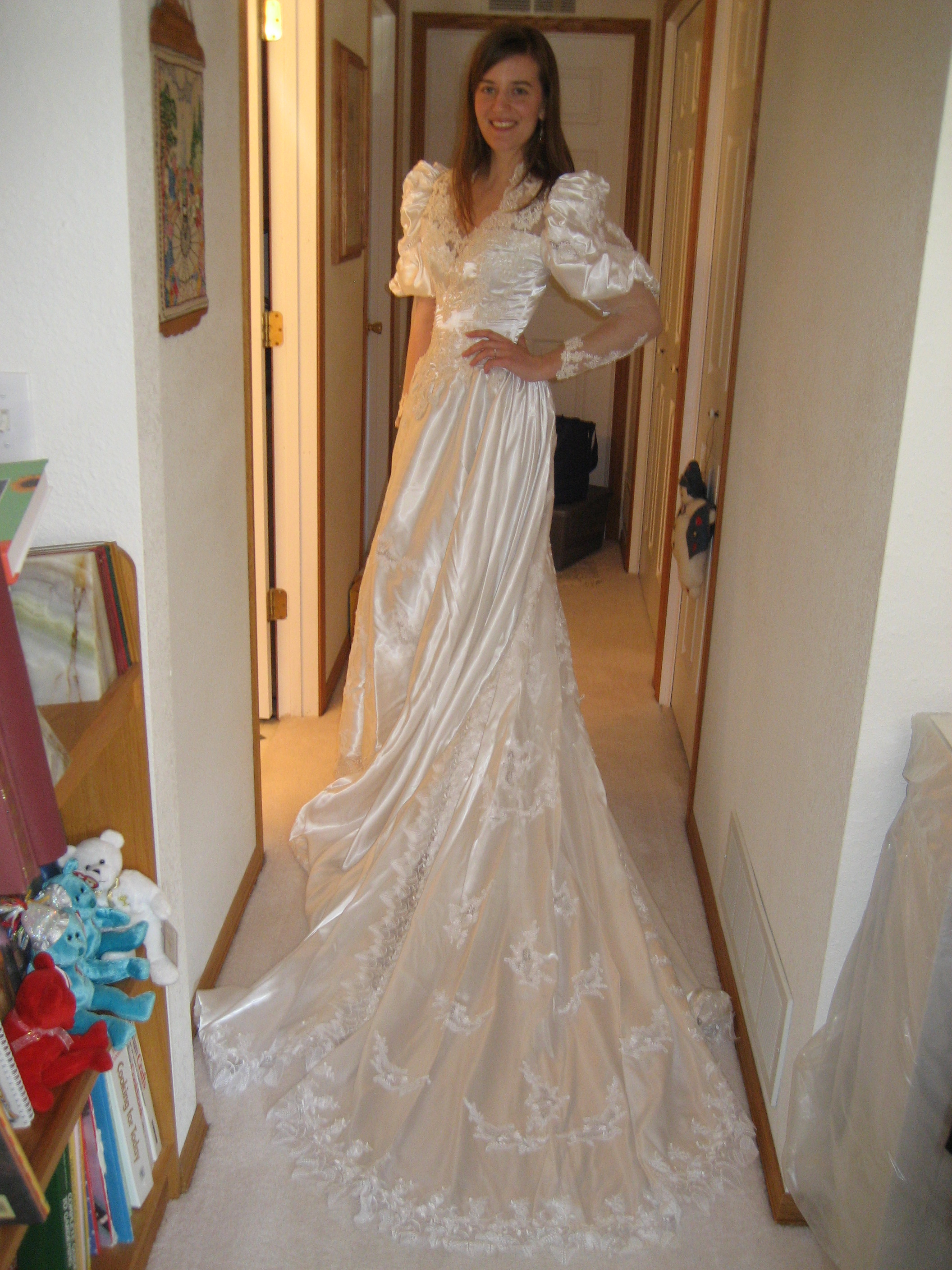 wedding mom's wedding dress I