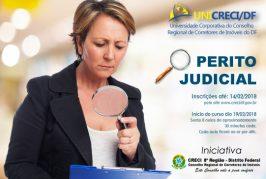 Inscrições abertas para o curso de Perito Judicial
