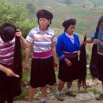 The long hair of the Yao women, Dazhai, China