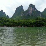The Li river area is also famous for the bamboo that lines the banks.