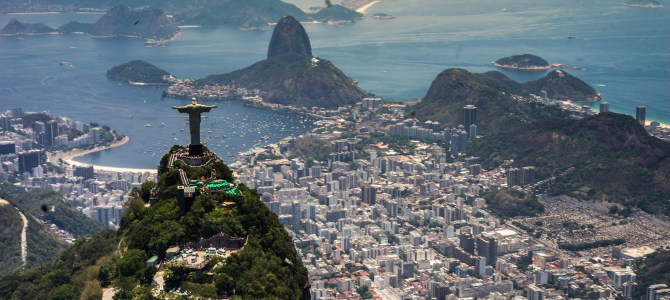 Brazil Day 8 – Avoiding Rio's horriffic lines by flying to Christ the Redeemer
