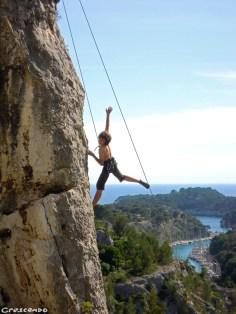 Calanques Stage Escalade Jeune - Stage d'escalade en falaise