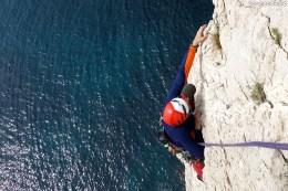 Calanques escalade - Stages d'escalade grandes voies et terrain d' aventure