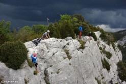 Carelle Verdon, escalade verdon grandes voies
