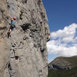 Verdon Escalès - Stage d'escalade en falaise