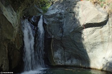 Canyoning guide, moniteur Canyoning, sortie canyoning