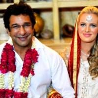 Wasim Akram gets married to his girlfriend Shaneira Johnson
