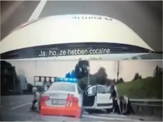 cocaine ring antwerpen raam, cocaine uit raam achtervolging belgie, belgie cocaine achtervolging, video achtervolging cocaine antwerpen
