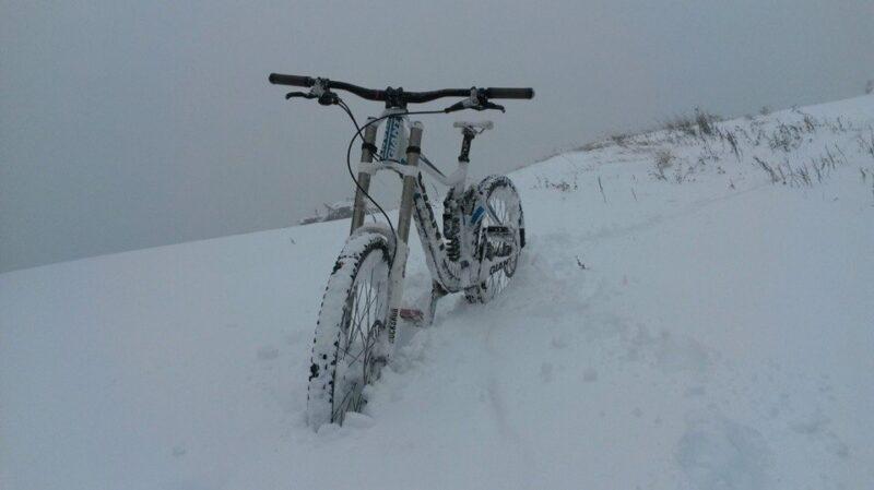ВКрыму выпал 1-ый снег
