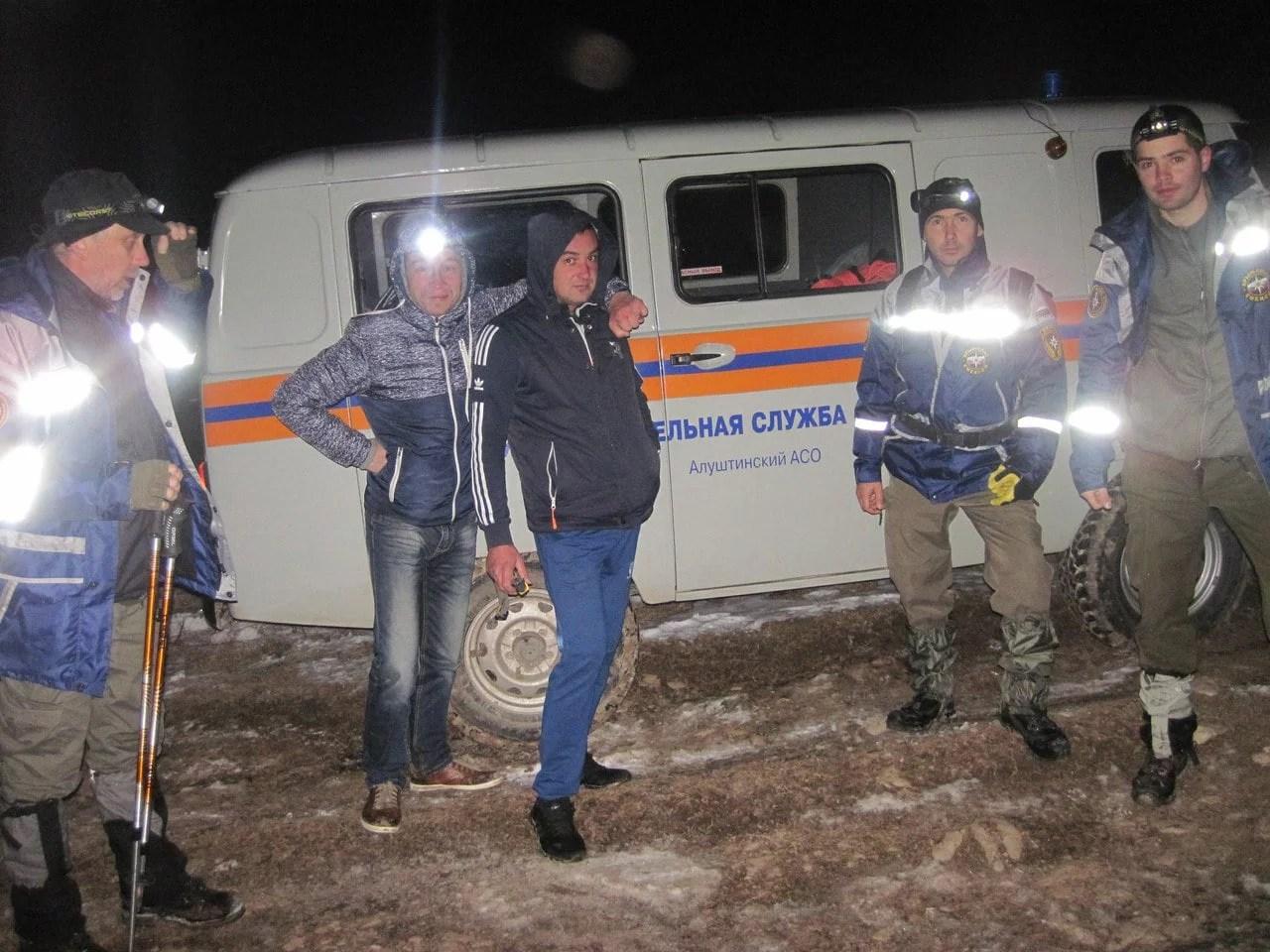Ураинские туристы заблудились вКрыму