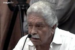 Pedraza habló frente los jueces antes de la sentencia.