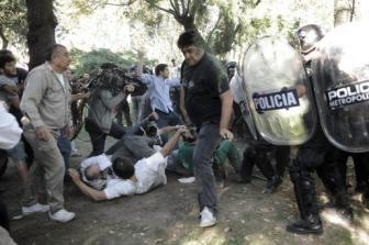 La Metropolitana no tiene un protocolo de actuación para casos de conflictos o protestas.