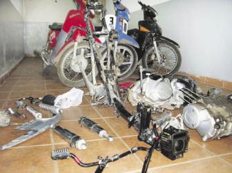 La mayoría de los robos con en la ciudad y en la provincia de Buenos Aires.