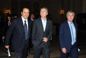 Di Pietro llegó a Buenos Aires para participar de un congreso sobre transparencia.