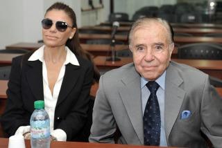 Menem ni siquiera fue llamado a declarar en el juicio.