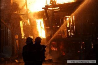 La fiscalía aguarda los peritajes realizados por los bomberos.