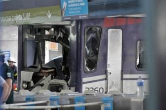 El disco rígido del tren estaba en la mochila del maquinista.