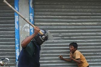 La violencia policial preocupa al Poder Judicial.