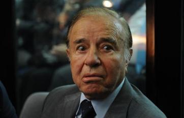 Menem tiene una condena firme.