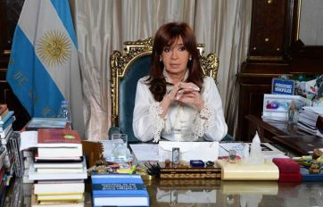 Cristina fue acusada por el fiscal.