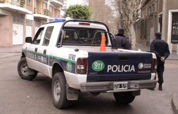 Los policías fueron arrestados en la comisaría.