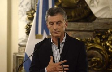 Macri dio marcha atrás.