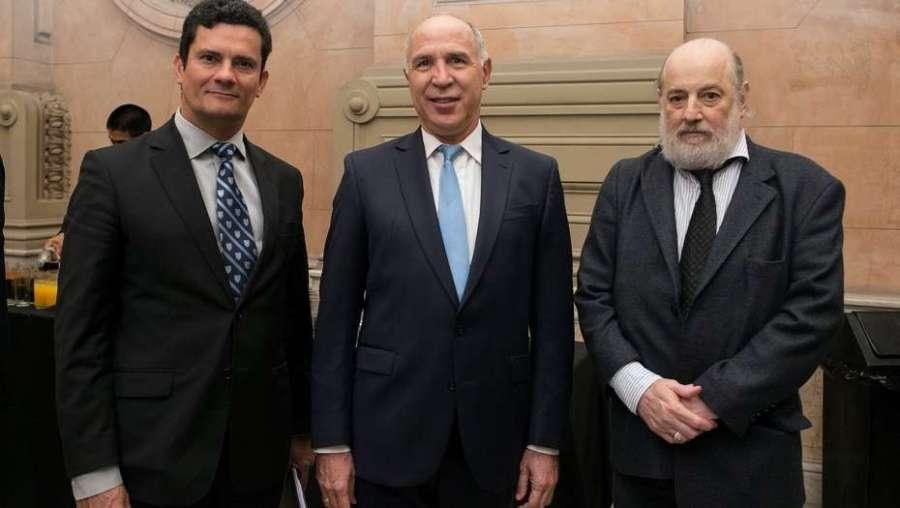 Moro, dunate su visita a la Argentina con Lorenzetti y Bonadio.