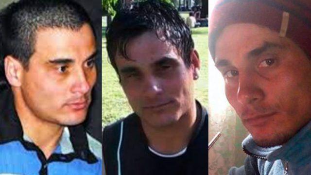 Las tres caras del acusado.