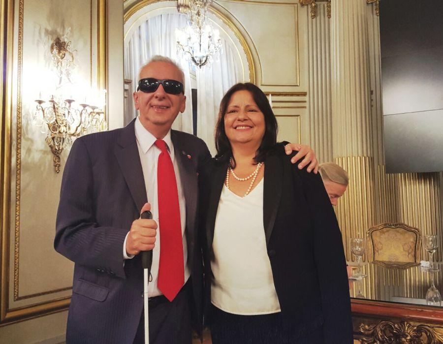 Awad y Donato, dos integrantes de Gente de Derecho.