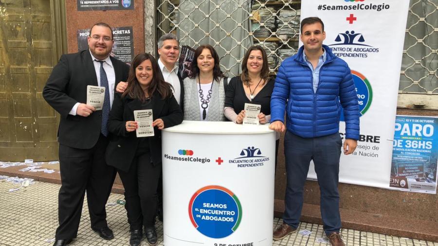 Patricia Vescio es la candidata de Seamos el Encuentro de Abogados