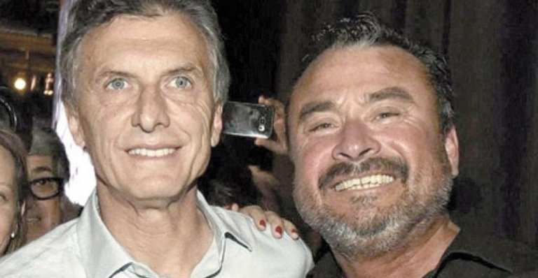 Macri y García en tiempos de campaña.